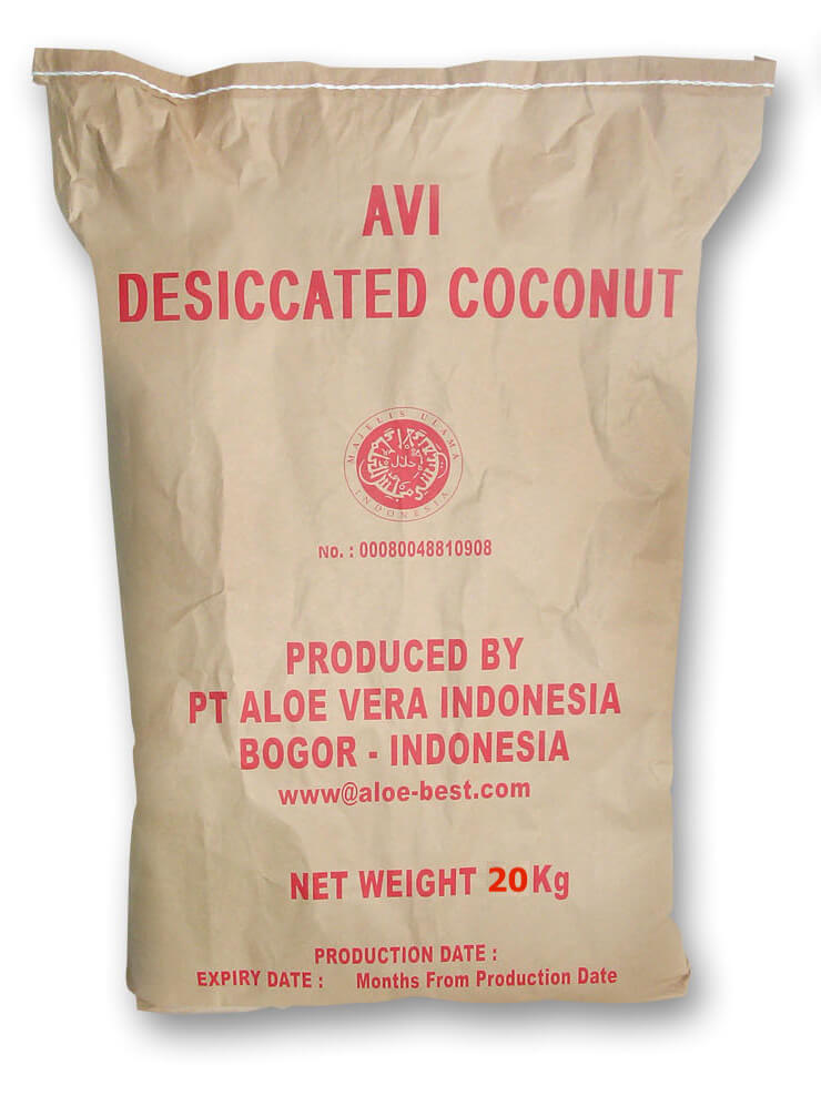 Desiccated Coconut Packaging